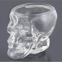 74 ml Crystal Skull Head Vodka Shot Glass Cup Search (Transparent)