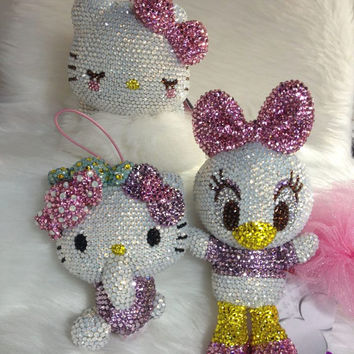 NOT for sales Custom order for  Plush doll crystal by Crystaljam