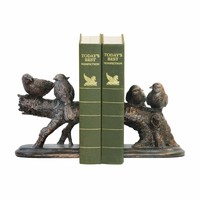 Pair of Continuing Branch Bookends