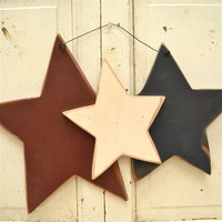 Rustic Wooden Star wall Decor