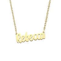 Ladies Name Necklace