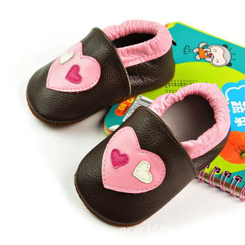 Leather Baby Handcrafts Environmental Shoes [4919349252]