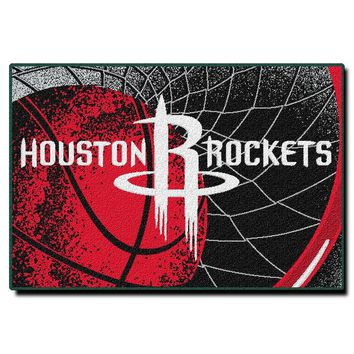 Houston Rockets NBA Tufted Rug (59x39)