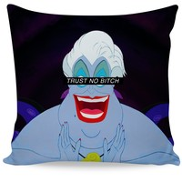 Trust No Bitch Ursula Couch Pillow