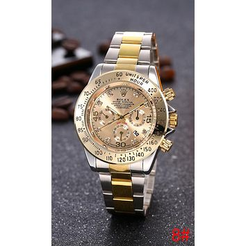 Rolex Trending Ladies Men Stylish Delicate Business Movement Watch Lovers Wristwatch 8# I-JYXCX-YB