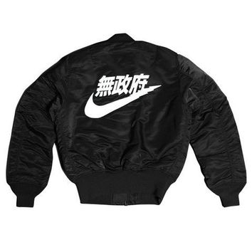 AIR1 Bomber Jacket Black