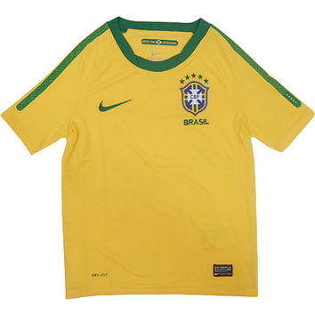 Brazil Jersey 2010 Youth and Boys Sizes