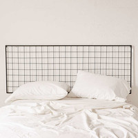 Grid Metal Headboard | Urban Outfitters