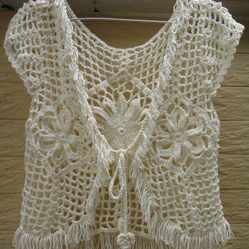 crochet womens clothing lace bolero fringe jacket, shrugs boleros beach cover up