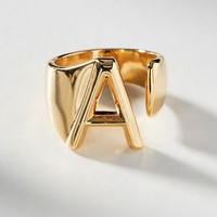 Monogram Wrap-Around Ring