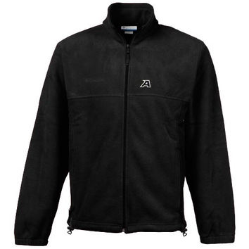 Columbia Army Black Knights Flanker Full-Zip Fleece Jacket - Charcoal