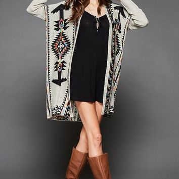 Ethnic Chimayo Cardigan