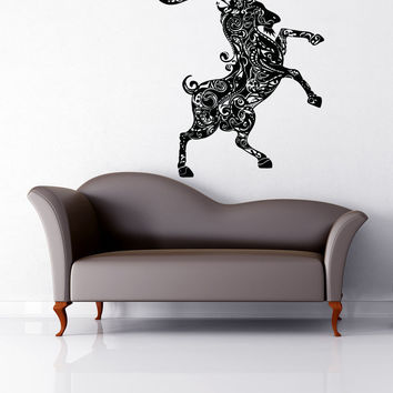 Vinyl Wall Decal Sticker Capricorn Design #OS_AA1386