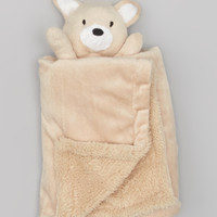 Tan Fox Cuddly Pal Security Blanket