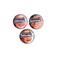 Eternal Sunshine of the Spotless Mind Pinback Button Set of 3