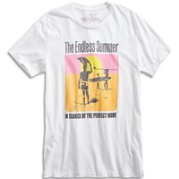 Lucky Brand Endless Summer Poster Mens - Bright White