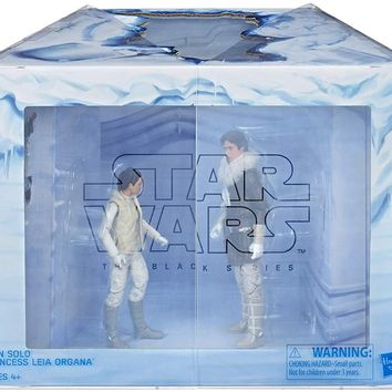 Han Solo and Princess Leia Star Wars The Black Series 6 Inch Exclusive Pack