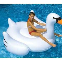 Swimming Pool Inflatable Swan - Inflatable