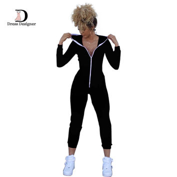 Casual Women One Piece Outfit Jumpsuit