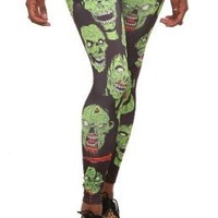 Zombie Leggings Size : Small