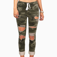Trooper Torn Jogger Pants