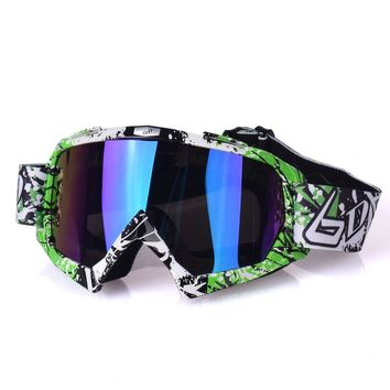 MX Motocross Goggles Glasses Cross Country Ski Snowboard ATV Mask Oculos Gafas Motocross Motorcycle Helmet Goggles