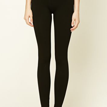 Nylon-Blend Leggings