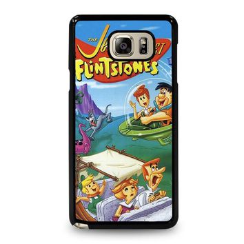 JETSONS MEET FLINTSTONES Samsung Galaxy Note 5 Case Cover