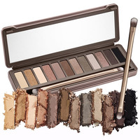 12 Color NK Eyeshadow Palette Makeup Beauty and Health Nk Cosmetic