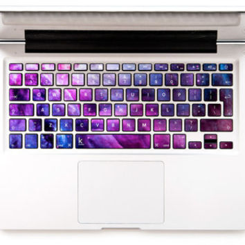 Stellar Vibe Stardust Galaxy Macbook keyboard decal Macbook Decal Keyboard Sticker Macbok Air Pro Retina HP Wireless Galaxy Chromebook decal