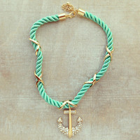 MINT LADY SAILOR NECKLACE