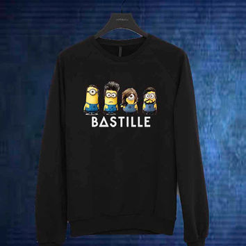 bastille minion sweater Sweatshirt Crewneck Men or Women Unisex Size