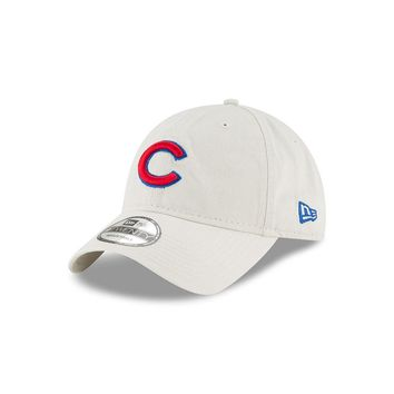 Chicago Cubs Khaki Core Classic Adjustable Hat By New Era