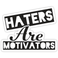 Haters Are Motivators (Black)