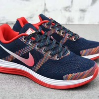 """""""Nike Lunargl Ide 30"""" Men Sport Casual Fashion Multicolor Knit Breathable Light Running Shoes Sneakers"""