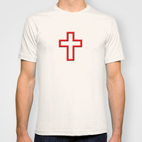 Christian cross T-shirt by Gbcimages