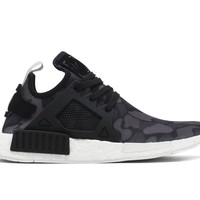 Adidas NMD XR1 Duck Camo Mens BA7231 Black White Boost Running Shoes Size 13