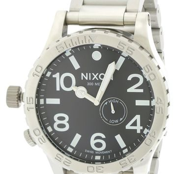 Nixon The Tide Black Dial Watch A057000