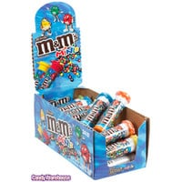 Mini M&M's Candy Tubes: 24-Piece Box