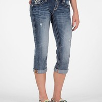 Rock Revival Angela Stretch Cropped Jean