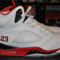 "Air Jordan 5 Retro ""Fire Red"" Sz 8"