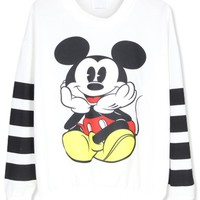 Adorable Micky Mouse Sweatshirt - OASAP.com