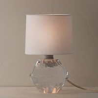 Gemma Crystal Accent Lamp With Shade