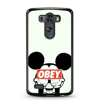 Mickey Mouse Obey LG G3 Case