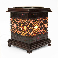 Metal Asian Sun Style Oil Warmers  - Candle & Soapmaking Kits