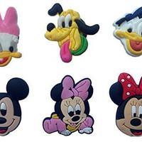 Mickey Mouse and Friends Fridge Magnets 6 Pcs Set #1