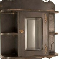 One Kings Lane - Nannette Brown - Antique Ebonized Wall Cabinet