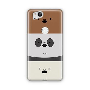 We Bare Bears Google Pixel 3 Case | Casefantasy