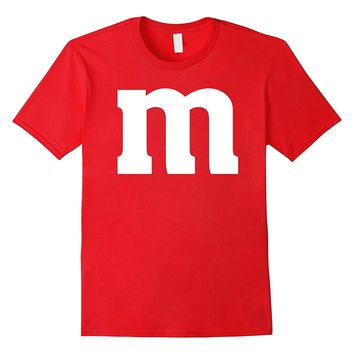 Letter M Monogram Alphabet Candy T-Shirt