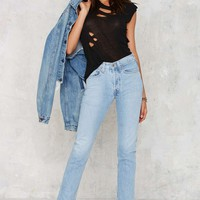 After Party by Nasty Gal Long Haul Jeans